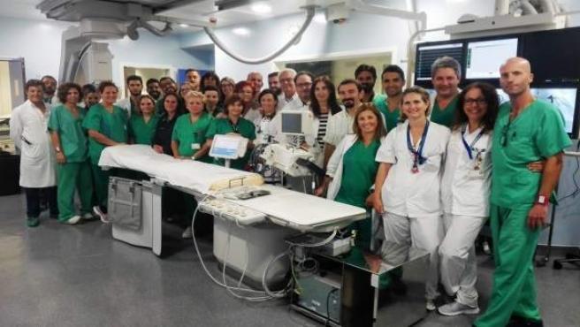 Personal del Hospital Universitario Nuestra Señora de Candelaria