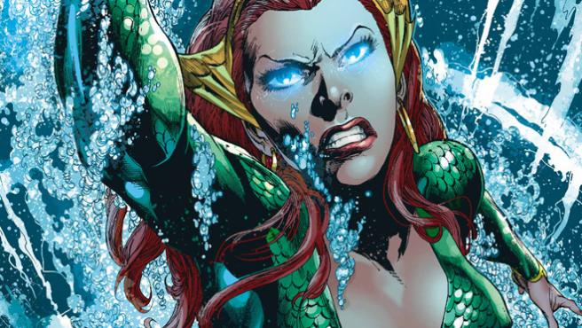 Primera imagen de Amber Heard con el traje que lucirá en 'Justice League'