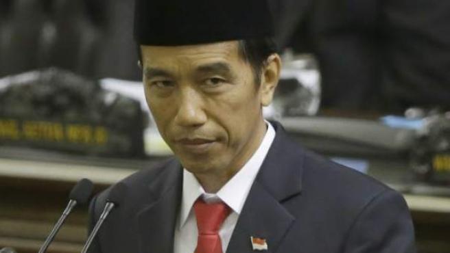 El presidente de Indonesia, Joko Widodo.