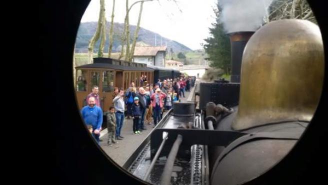 Tren histórico