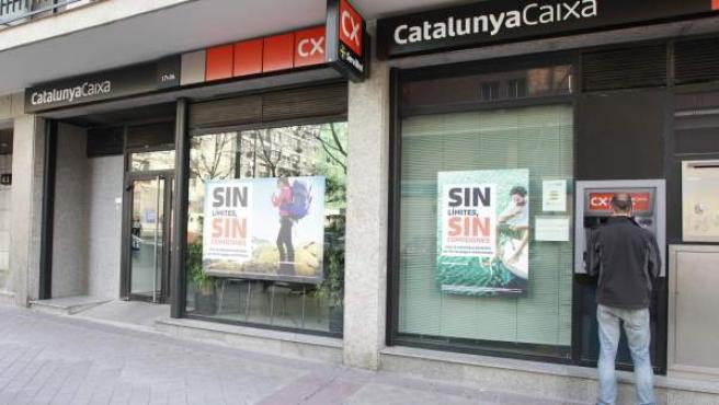 Oficina del banco CatalunyaCaixa.