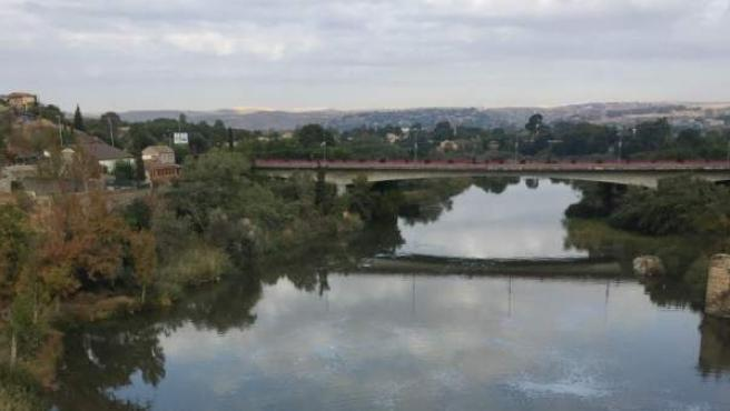 Un tramo del río Tajo.
