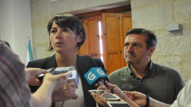 La candidata del BNG a la Xunta, Ana Pontón