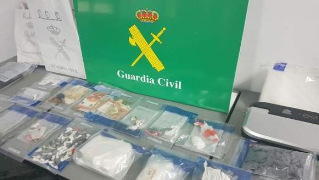 Droga incautada en la 'Operación luk'