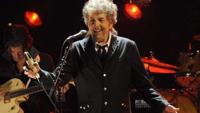 Bob Dylan, durante un concierto, en una imagen de archivo.