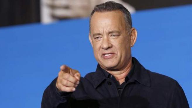 El actor Tom Hanks.
