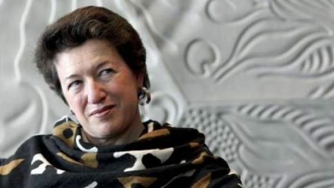 La autora Laura Freixas, presidenta de la Asociación de Clásicas y Modernas, organizadora de esta iniciativa.