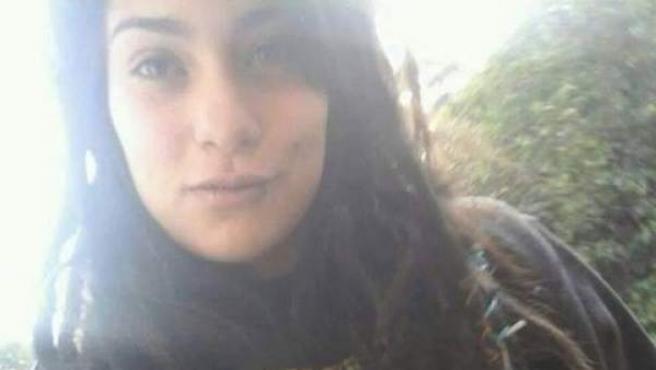 La joven argentina Lucía Pérez.