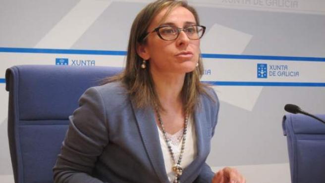 La conselleira de Infraestruturas, Ethel Vázquez