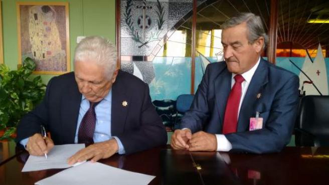 Firma entre Instituciones Penitenciarias y la Real Sociedad Colombina