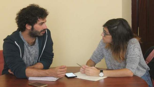 Reunión de Participa con el Movimiento Estudiantil.