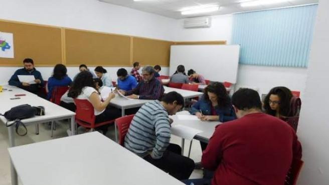 Participantes en la Lanzadera de Empleo de Lucena