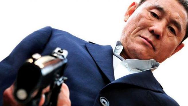 El actor y director japonés Takeshi Kitano en 'Outrage'.