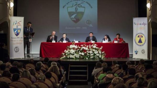 Celebración del 125 aniversario del colegio El Milagro en Almería
