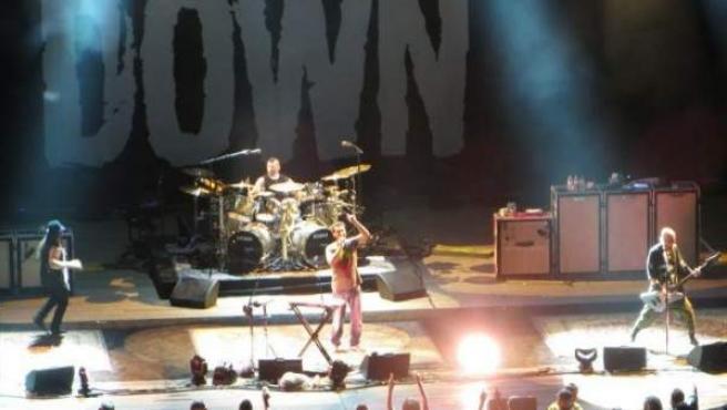 System of a Down, cabeza de cartel del Download Festival España, en un concierto en Nueva York.