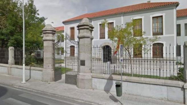 Imagen de la fachada de los juzgados de Pozoblanco, en Córdoba.