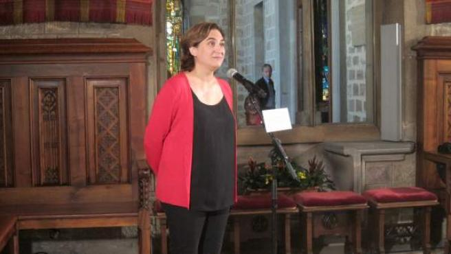 La alcaldesa de Barcelona, Ada Colau.