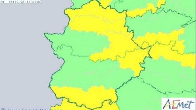 Mapa 22 de octubre