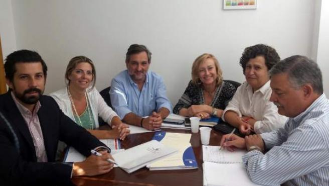 Reunión de la Diputación de Almería y Fundación Almería Social y Laboral