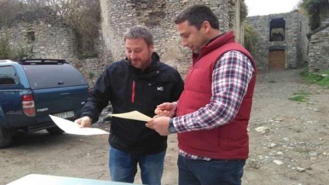José Luis Soro firma acuerdo restitución y recuperación Jánovas.