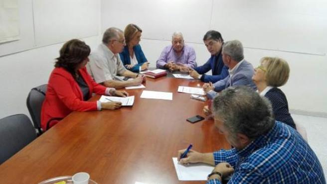 Reunión del PP con comunidad de regantes del Bajo Guadalfeo de Granada