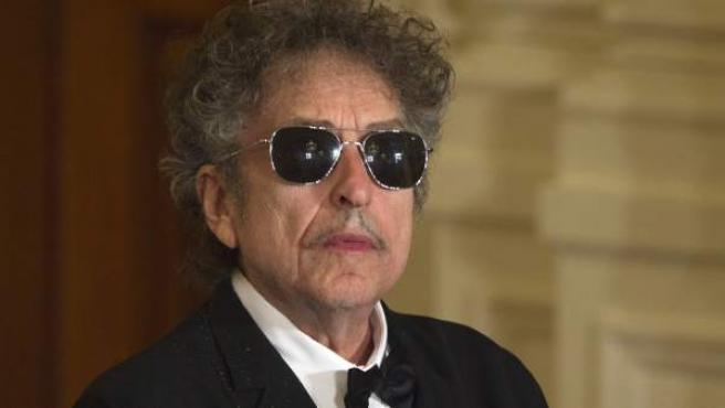 El cantante estadounidense Bob Dylan, en un evento en la Casa Blanca en 2012.