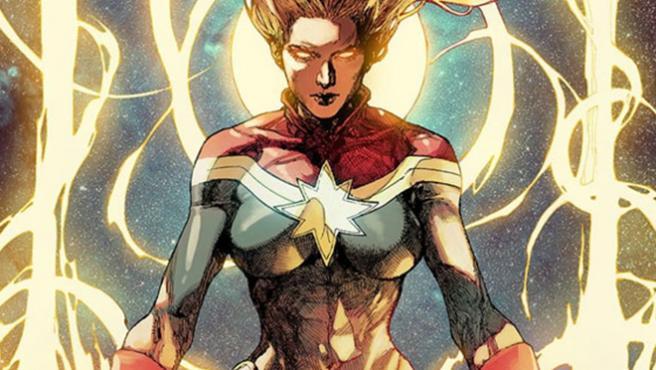 La Capitana Marvel será el más fuerte de todos los héroes del Universo Marvel