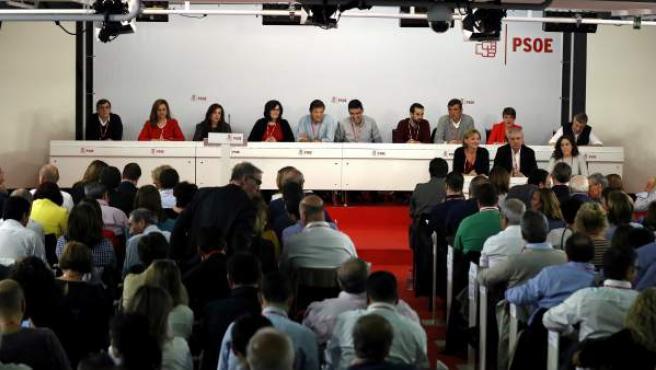 Interior del Comité Federal del PSOE.