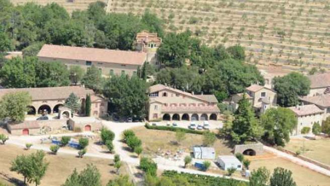 Château Miraval, lujoso castillo en el sur de Francia donde Angelina Jolie y Brad Pitt celebraron su boda y que ahora está a la venta