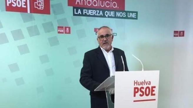 El diputado socialista por Huelva en el Parlamento, Diego Ferrera.