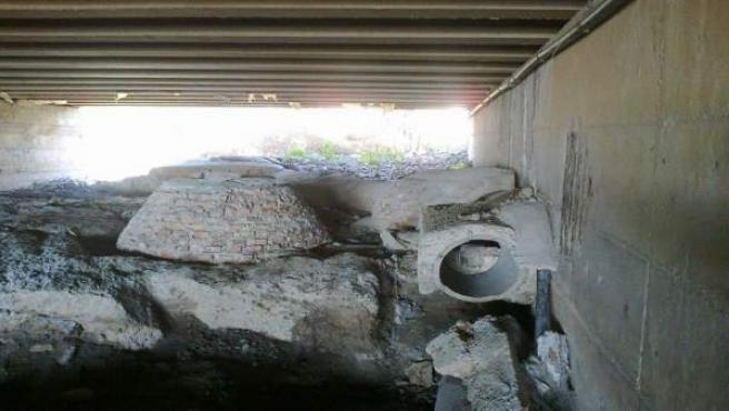 Algunas de las obras de mejora ejecutadas en el arroyo La Caleta.