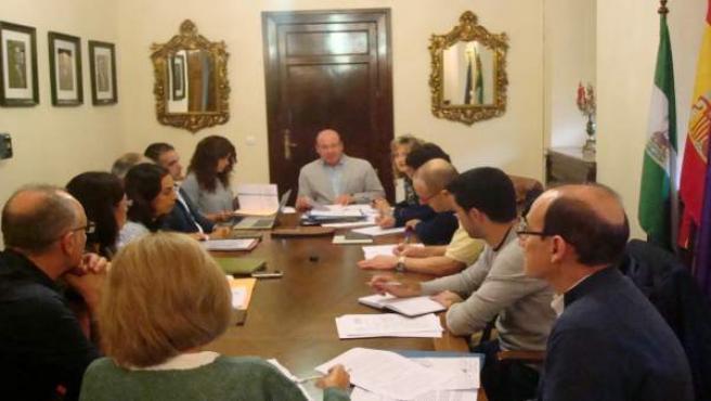 Reunión de la Gerencia de Urbanismo