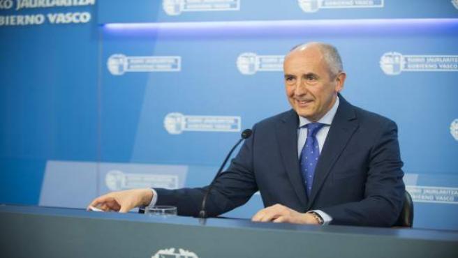 El protavoz del gobierno vasco ,josu erkoreka