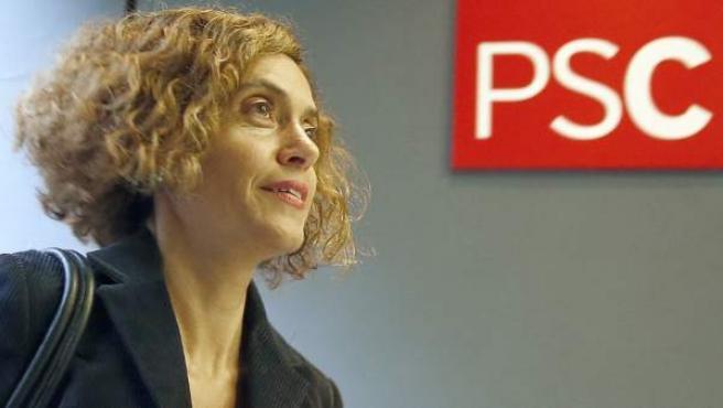 La dirigente del PSC, Meritxell Batet.