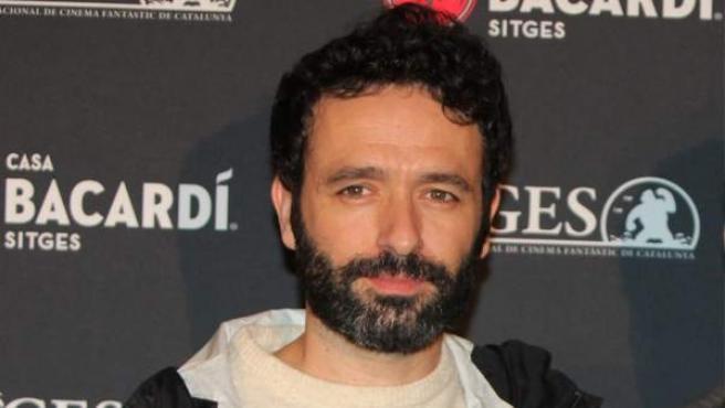 El director Rodrigo Sorogoyen durante la presentación de 'Que Dios nos perdone' en el Festival de Sitges
