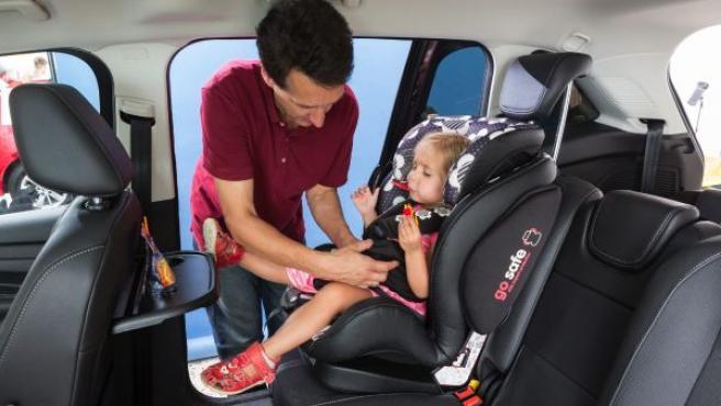 Según el RACE, el saldo diario de niños heridos por accidentes de tráfico es de 15.