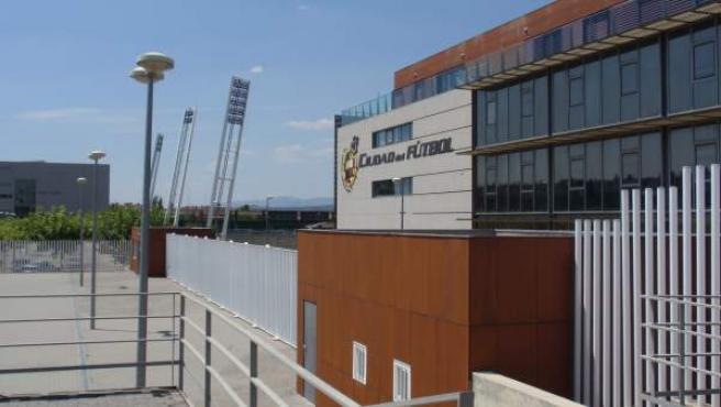 Imagen de la Ciudad del Fútbol de Las Rozas, sede de la Real Federación Española de Fútbol.