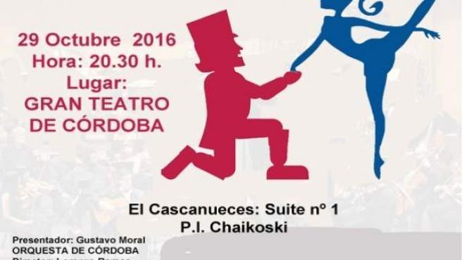 Cartel del concierto benéfico