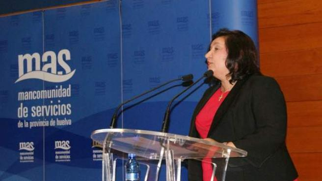La alcaldesa de Niebla, Laura Pichardo, nueva presidenta de Giahsa.