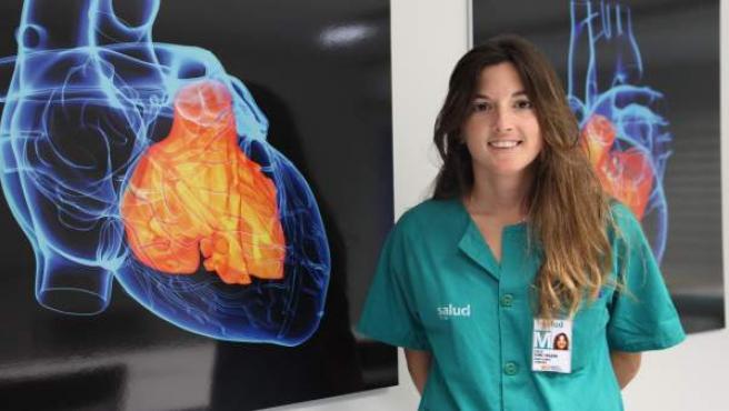 La cardióloga zaragozana Teresa Olóriz Sanjuán, del Hospital Miguel Servet.
