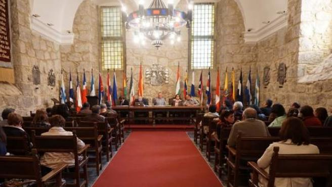 Reunión constitución junta sección riojana de la Serranía Celtibérica