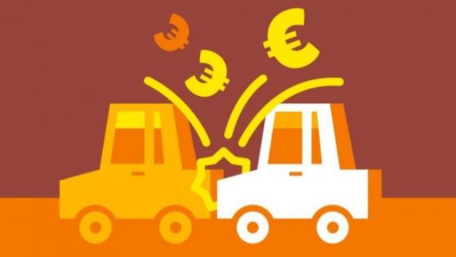 Los estafadores de seguros reclaman no solo los daños, sino también lesiones.