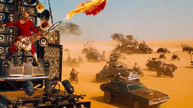 A Mel Gibson le encanta 'Mad Max: Fury Road'