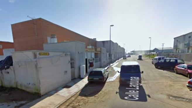 Imagen de la calle Laguna del municipio de Don Benito, en la provincia de Badajoz.