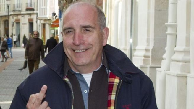 José Luis Izquierdo, presunto contable de la trama Gürtel, en una imagen de 2011