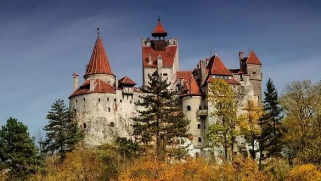 El Castillo Bran está situado en la frontera entre Transilvania y Valaquia.