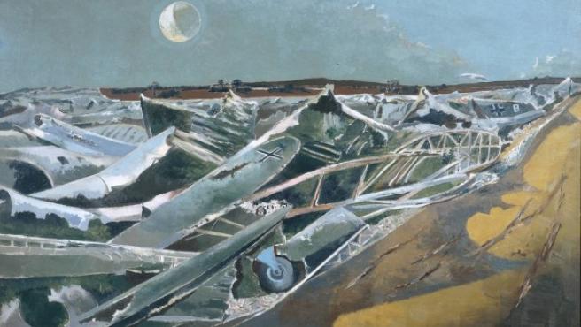 'Mar muerto', alegoría de Paul Nash sobre la derrota nazi en la II Guerra Mundial