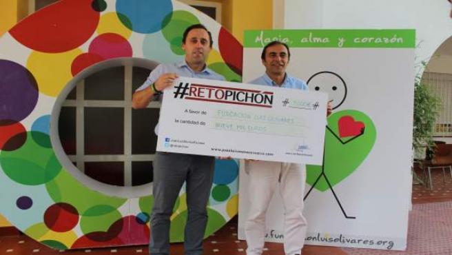 Reto Pichón entrega 9.000 euros a la fundación Luis Olivares