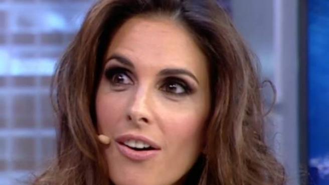 Nuria Fergó en El Hormiguero.