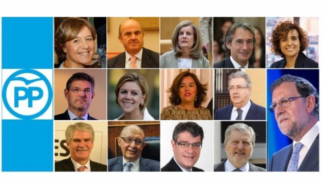 Nuevas caras Gobierno de Rajoy.